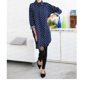Tops - 🔥Polka dot dress/shirt -One Size🔥