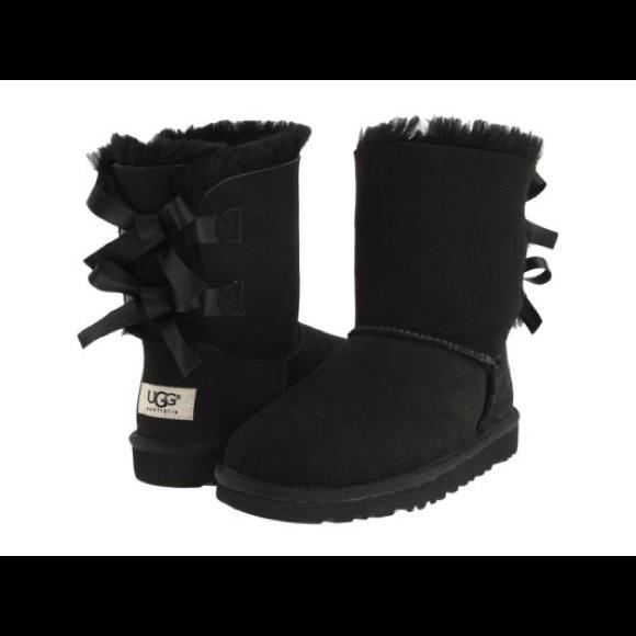 black ugg boots for toddler