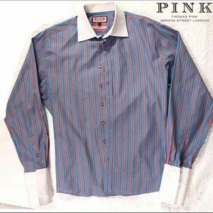 Thomas Pink Other - Thomas Pink Slim Fit Button Down Sz. 16.5 (42cm)