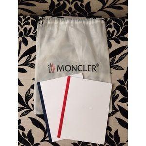 Moncler Handbags - ✨NEW✨Moncler Dust Bag & Pre-Summer 2017 Lookbooks