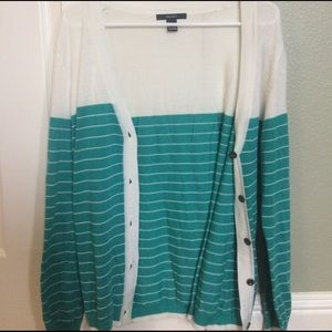 Forever 21 Sweaters - Striped Cardigan