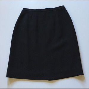 Petite Sophisticate Dresses & Skirts - Petite Sophisticate Black Skirt