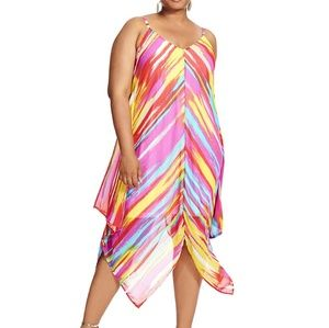 City Chic Dresses & Skirts - 🎊HP🎊Multi colored Wheel maxi