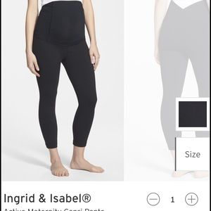 Ingrid & Isabel Pants - 🤰🏼Ingrid & Isabel Maternity Capri Workout Pants