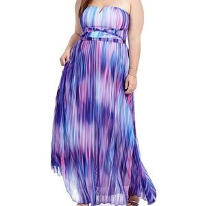 City Chic Dresses & Skirts - Midnight ombre maxi dress