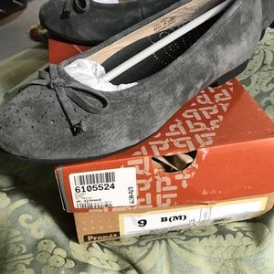 Propet Shoes - Propet ballet flats, NIB, gray suede, 9 B(M)