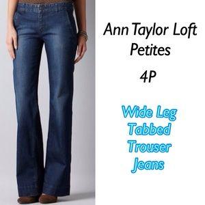 Ann Marino Denim - Ann Taylor Loft Trouser Jeans 4P