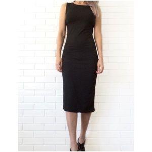 Boutique Dresses & Skirts - Make Bundle Offer • Blue Sleeveless Bodycon Dress