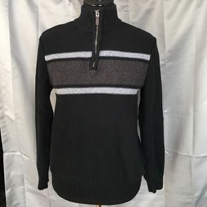 Dockers Other - Dockers Black and Gray Sweater
