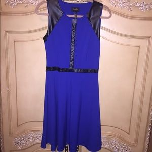 Laundry by Design Dresses & Skirts - Laundry Royal Blue with Black dress size 8