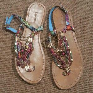 Zigi Soho Shoes - Zigi soho multicolor jewelery sandals