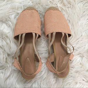 Shoes - Orange Espadrilles