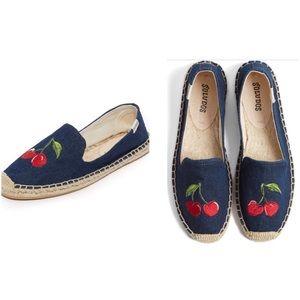 Soludos Shoes - Saludos, cherries, espadrilles, nwob, size 8