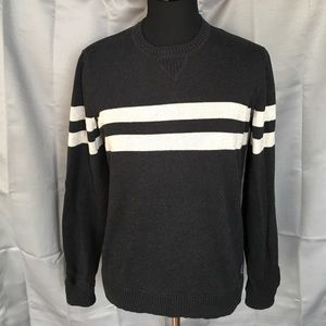American Eagle Outfitters Other - AE Dark Gray and Light Gray/Cream Sweater