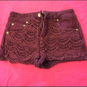 Dollhouse Pants - Laced Shorts