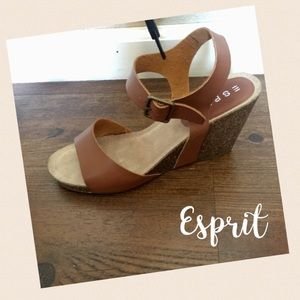 Esprit Shoes - LEATHER WEDGES BY ESPRIT