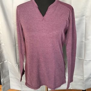 Helix Other - Helix Purple V-Neck Long Sleeve Shirt