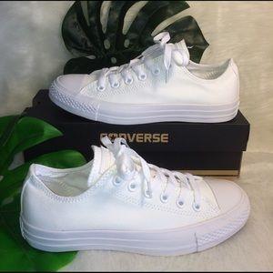 Converse Shoes - 📍FLASH SALE📍CONVERSE WOMENS SIZE 7.5 WHITE SHOES