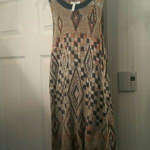 leith Dresses & Skirts - Leith dress size medium Aztec sleeveless