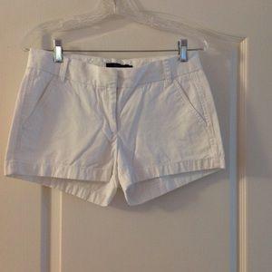 """J.crew White 3"""" Chino Shorts"""