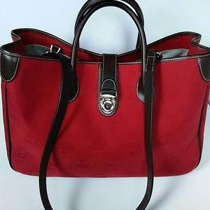Dooney & Bourke Handbags - Authentic Dooney&Bourke Bag/Tote Leather&Canvas