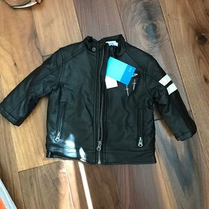 Amy Coe Other - Kids faux leather jacket brand new with tags