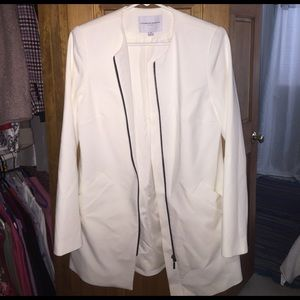 Katherine Barclay Jackets & Blazers - Long zip up professional jacket