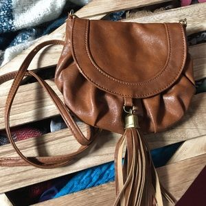Call It Spring Handbags - Brown Satchel Bag