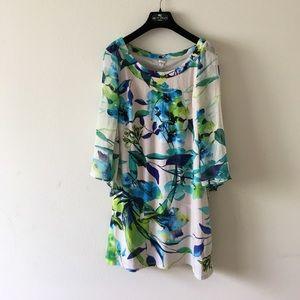 sangria Dresses & Skirts - Sangria Floral Dress