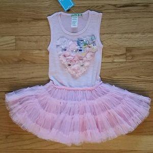 Little Mass Other - Little Mass NWT Pink Pettiskirt Tutu Dress