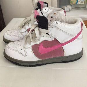 Nikes hi dunks