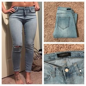 Liverpool Jeans Company Denim - Liverpool Ankle Skinny Jeans Size 26
