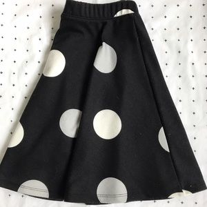 POLK A DOT CIRCLE SKIRT