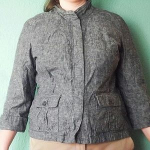 SALE! Linen Jacket XL