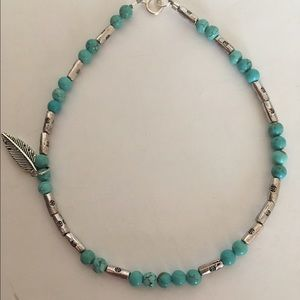 Jewelry - 🆕Bohemian Feather Charm Anklet