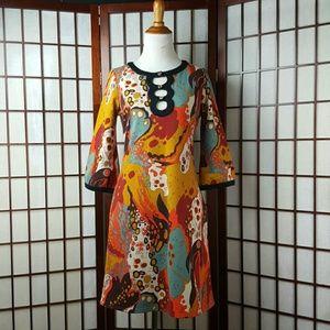 ⛤🎶HP🎶⛤ BCBGMAXAZRIA 3/4 Sleeve A line Dress