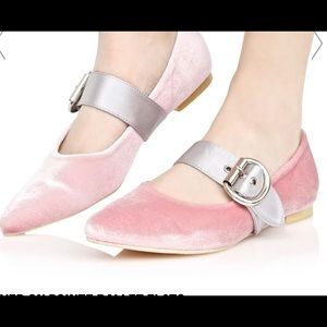 ❤️Host pick❤️Ladies Mary Jane flat shoes. Pink