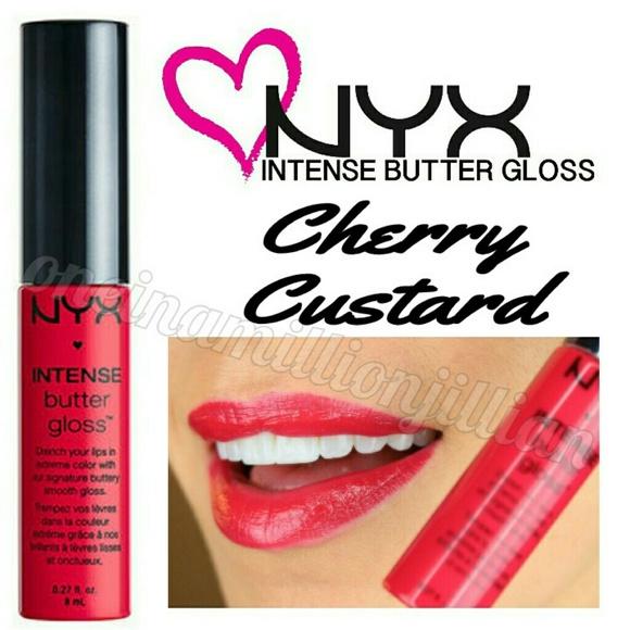 Nyx Makeup Intense Butter Gloss Cherry Custard Poshmark