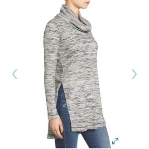 ASTR Tops - ASTR cowl neck sweater tunic