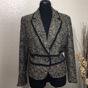 incognito Jackets & Blazers - Incognito Animal Print Jacket