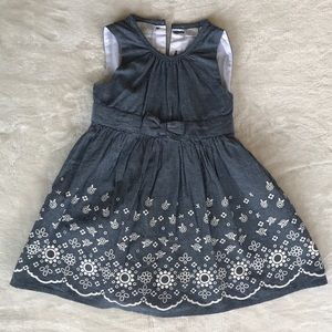 Koala Kids Other - Denim Floral Dress