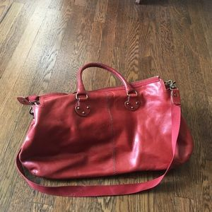 Handsome GAP leather bag