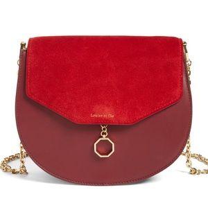 Louise et Cie  Handbags - Louise et Cie Jael Leather Shoulder Bag Rosewood