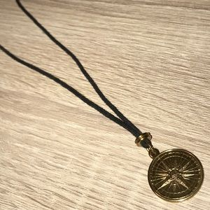 Jewelry - Brass double sided necklace.