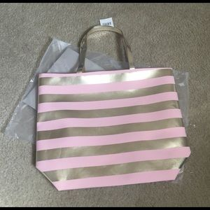 Macy's Handbags - NWT rose gold tote bag! 🎉