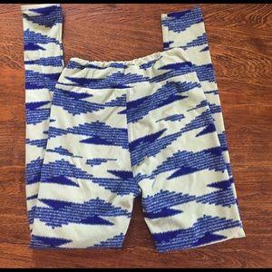 LuLaRoe Pants - mint green/blue OS lularoe leggings