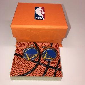NBA Other - Golden State Warriors Cufflinks Official NBA