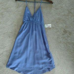 gentlefawn Dresses & Skirts - Gentle fawn purple strappy flowy dress xs