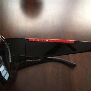 Prada Other - Prada shield sunglasses sps 53g