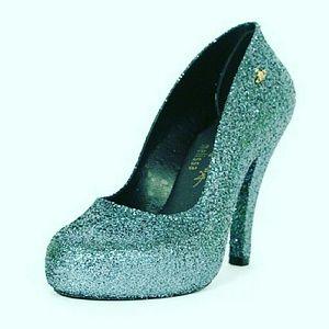 Vivienne Westwood Shoes - NWB! VIVIENNE WESTWOOD BLUE ANGLOMANIA MELISSA
